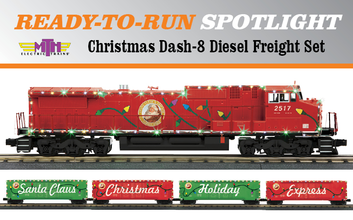 Electric Christmas Tree Train Set