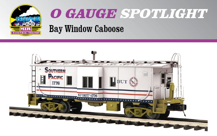 Product Spotlight - 2017 Premier O Scale Bay Window Caboose | MTH