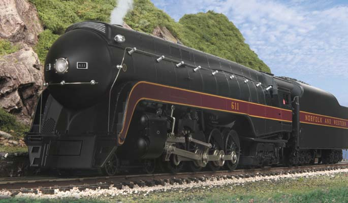 Product Spotlight - Premier O Scale 4-8-4 J Steam Locomotive