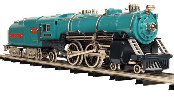 August 7, 2008 - Even if youメre not a tinplate fan, itメs hard to deny that  our Tinplate Traditions 4696 steamer is drop-dead gorgeous.