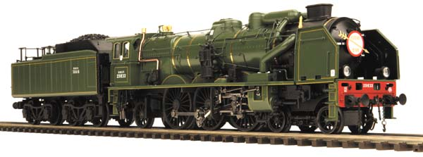 M T H Premier Line Chapelon Pacific Steam Locomotive Now