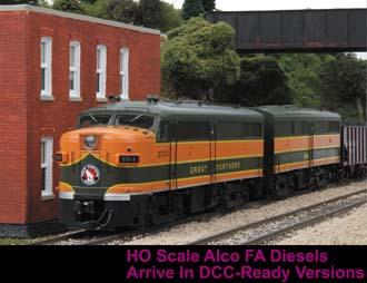 New Ho Alco Fa Dcc Ready Diesel Locomotives Begin Shipping Mth