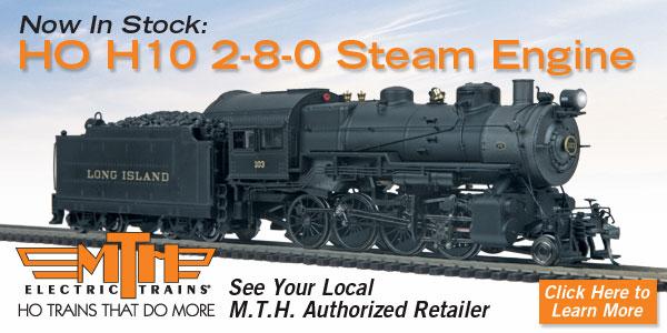 Product Spotlight - HO Scale Pennsylvania H10 2-8-0 Steam