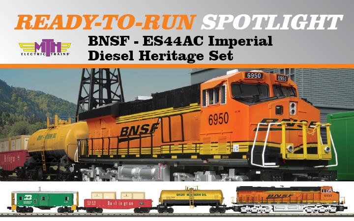 Product Spotlight - BNSF ES44AC Imperial Diesel Engine