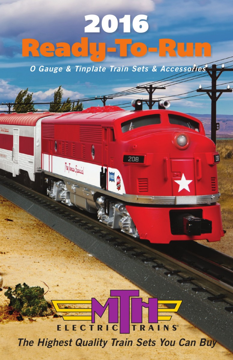 2016 Ready-to-Run Train Set and Accessory Catalog