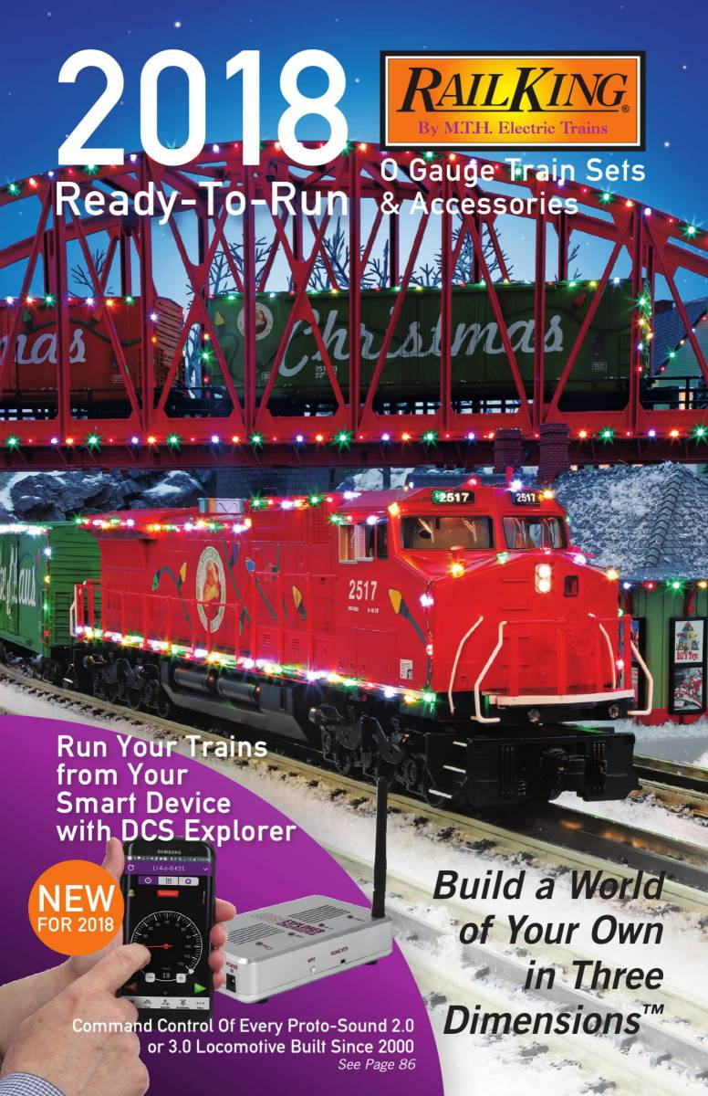 2018 Ready To Run Train Set Accessory Catalog Block Wiring Lionel Fastrack