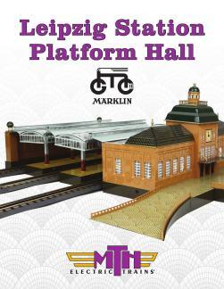 Marklin by MTH Tinplate No 2036 GB Leipzig Station Add-On Platform 10-1030