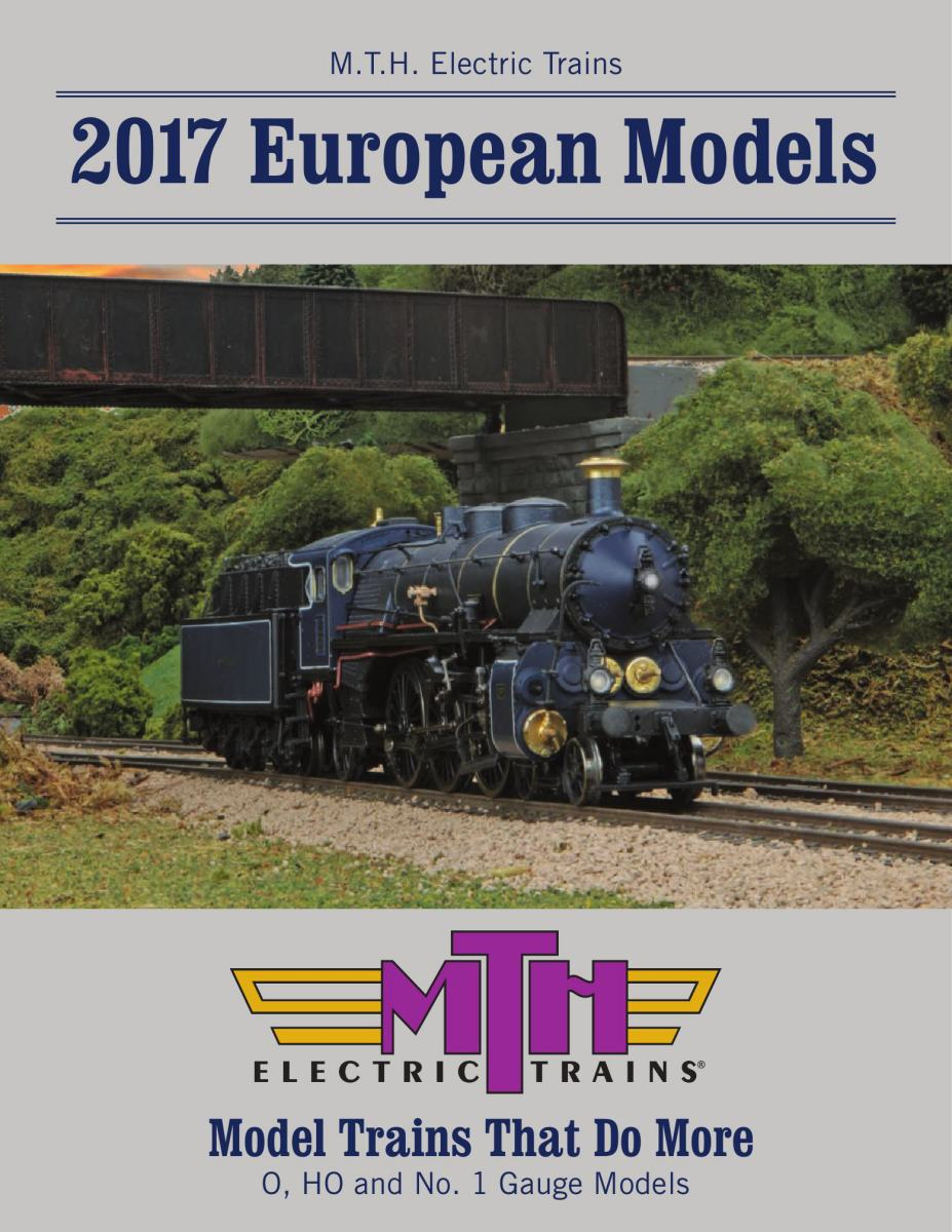 2017 M.T.H. European Catalog (German)
