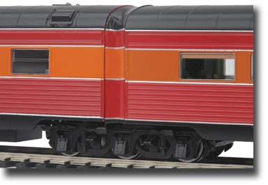 ho southern pacific daylight passenger cars mth electric trains. Black Bedroom Furniture Sets. Home Design Ideas