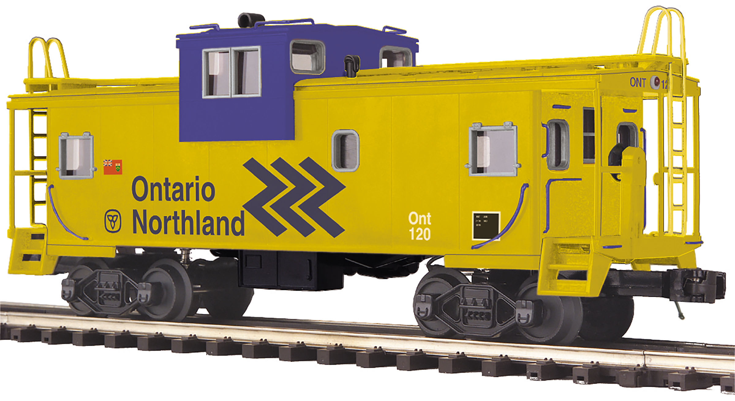 MTH 2091661 O Extended Vision Caboose ONT #120
