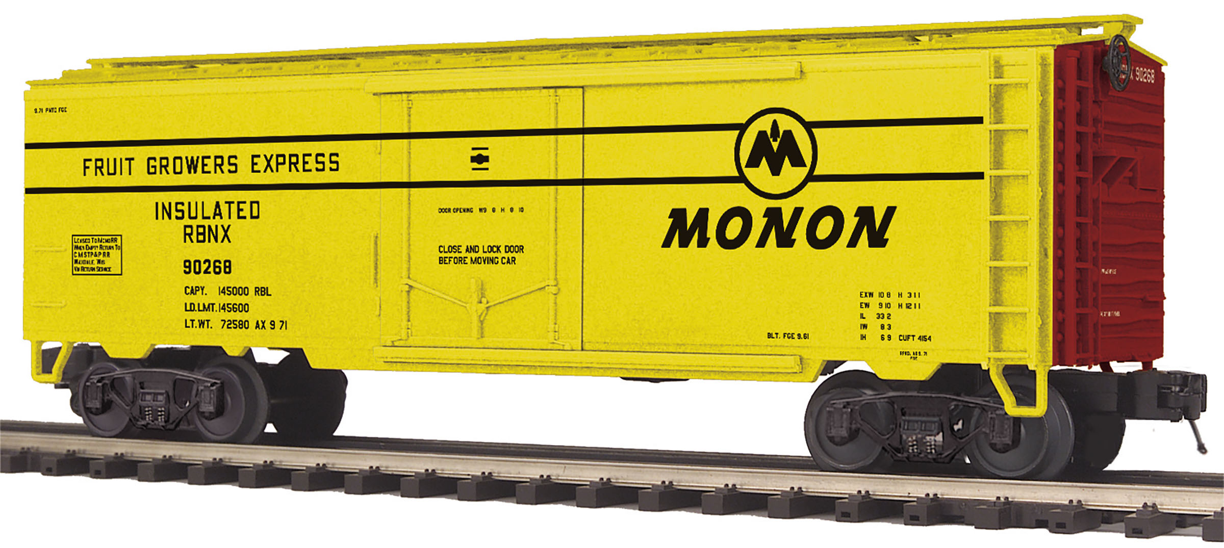 MTH2094285 MTH Electric Trains O Reefer Car Monon 90268 507-2094285