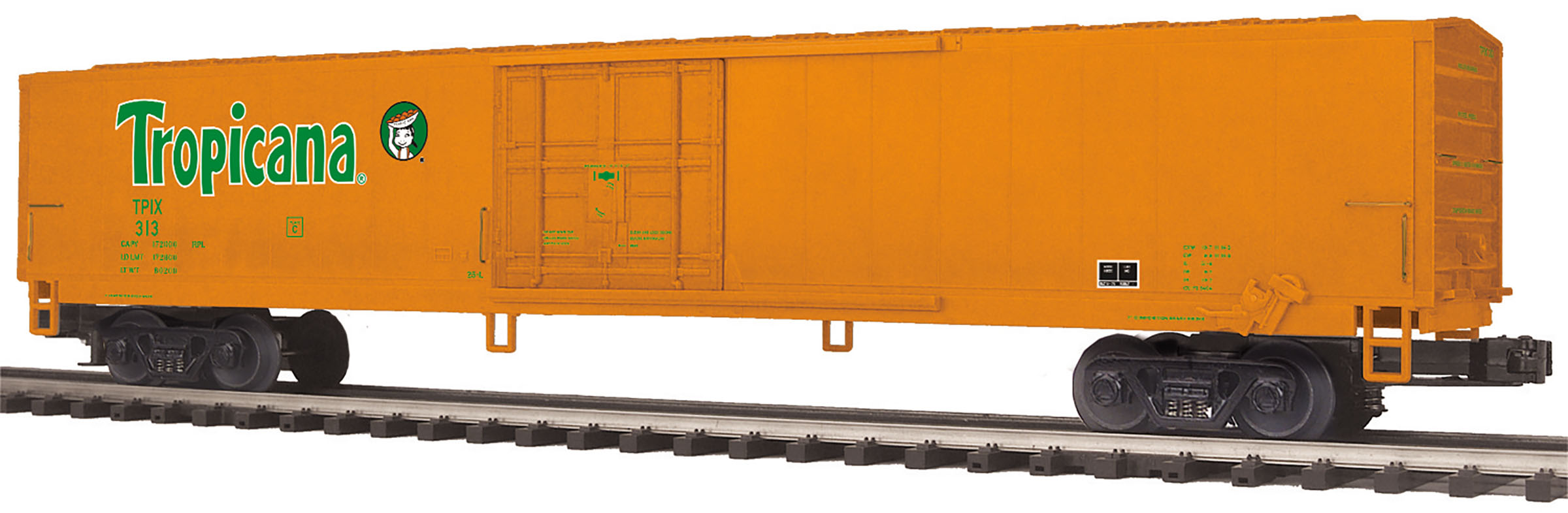 MTH2094433 MTH Electric Trains O 60' Reefer Tropicana 313 507-2094433