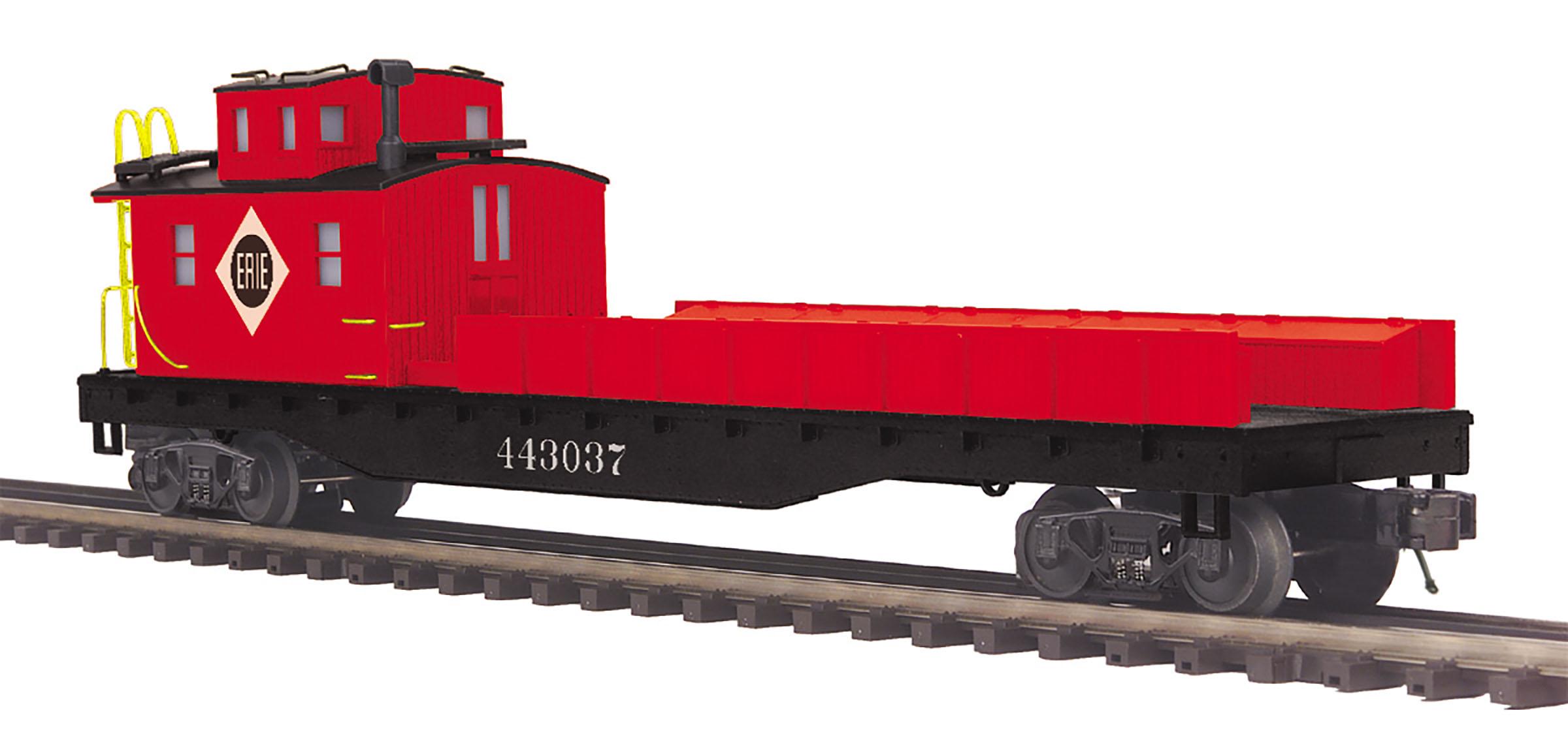 MTH 20-95358 Crane Tender 3 Rail Premier Erie 443037