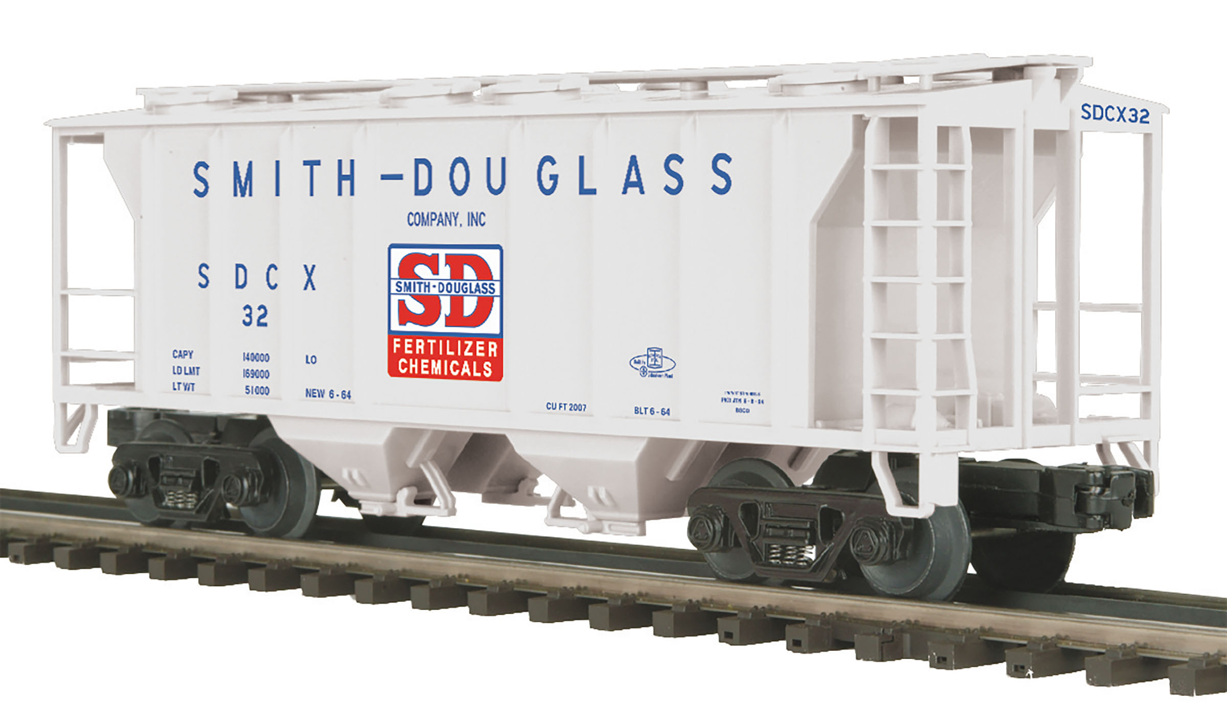 MTH 2097369 O PS-2 Hopper Smith-Douglas Company #32