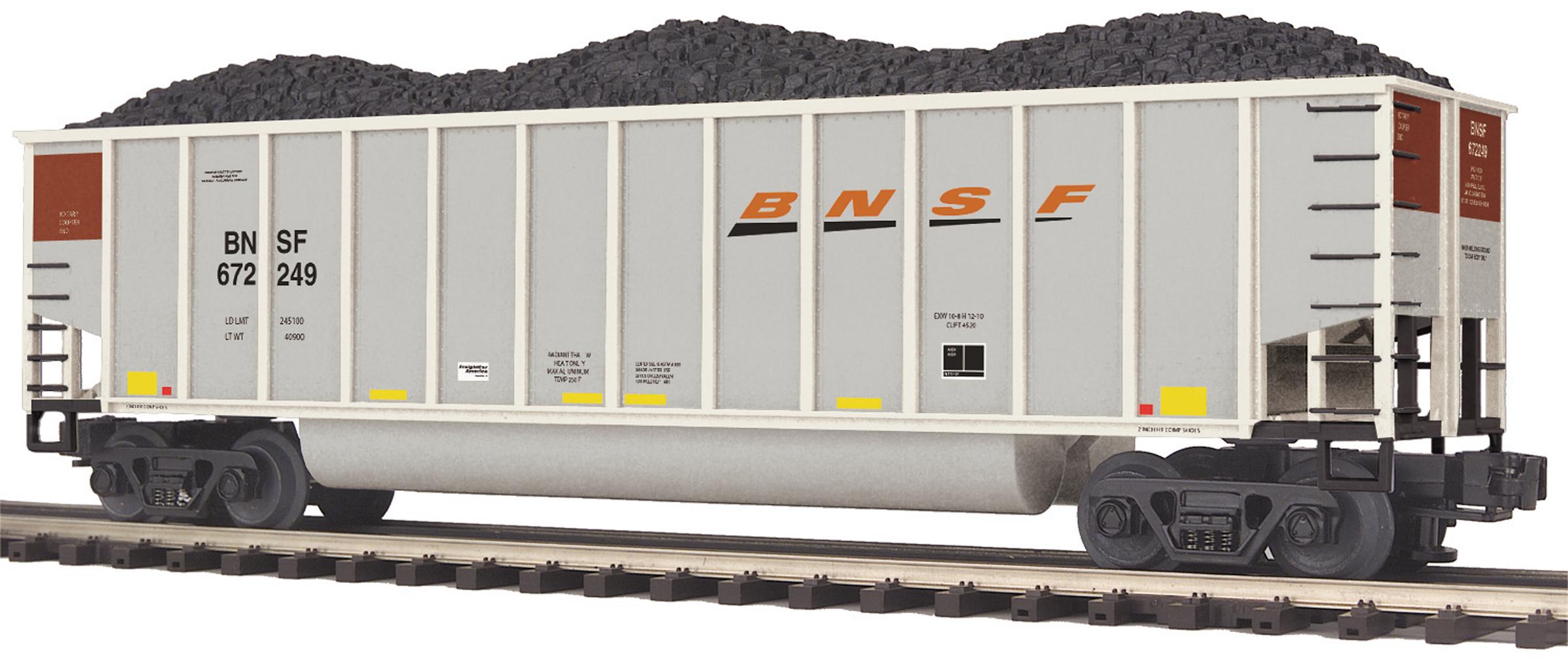 MTH 2097893 O Coalporter Hopper BNSF #672249 MTH2097893