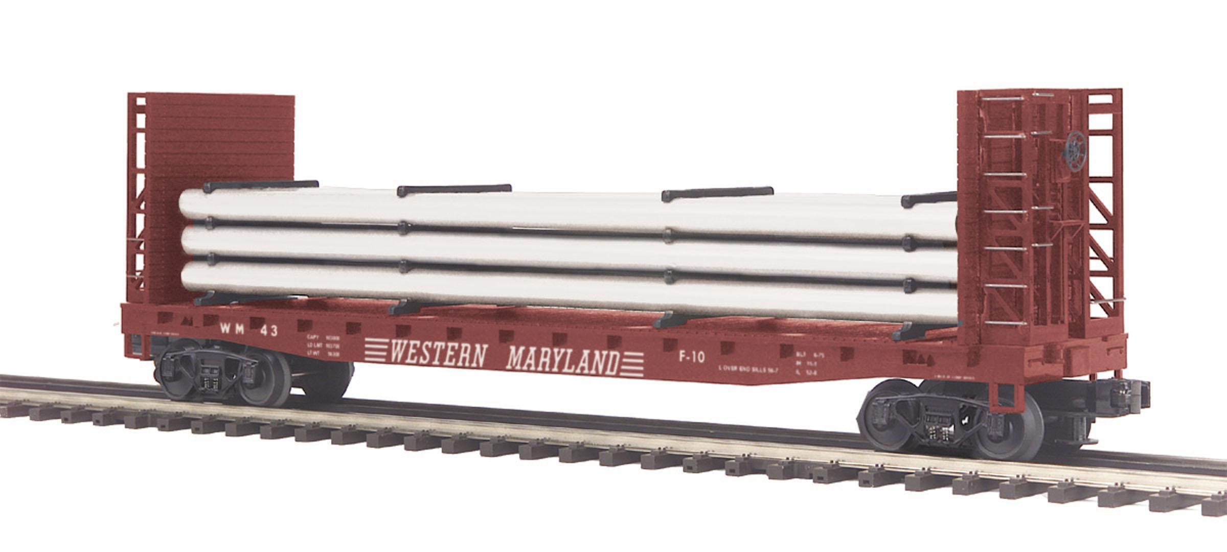 MTH 20-98713-1 Metal Flat Car Stake 2