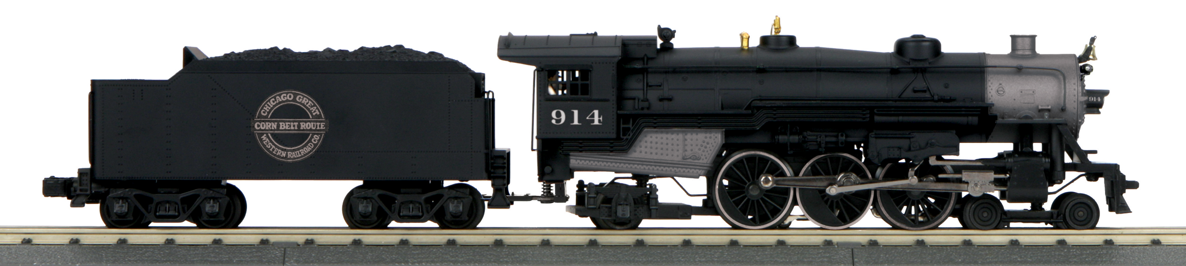 MTH 30-1824-1 4-6-2 Pacific Proto Sound 3.0 Imperial Chicago Great Western 914