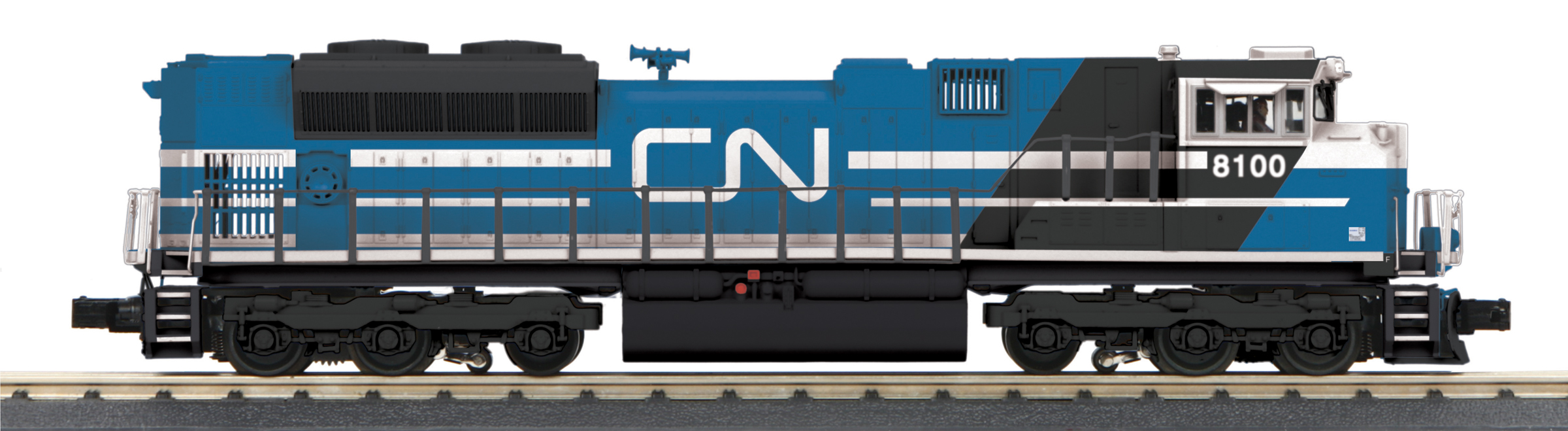 MTH 30-20513-1 EMD SD70ACe 3 Rail Proto Sound 3.0 Imperial Canadian National 8100