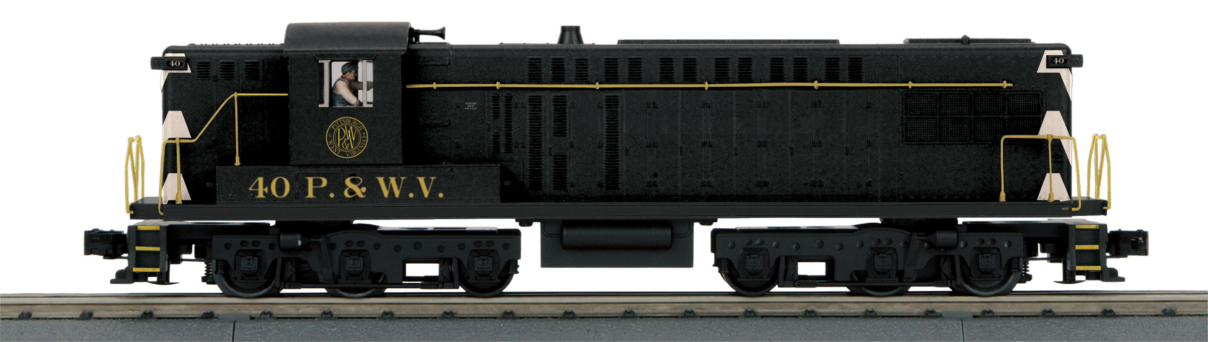 MTH 30205911 O-27 AS-616 w/PS3, P&WV #40 MTH30205911