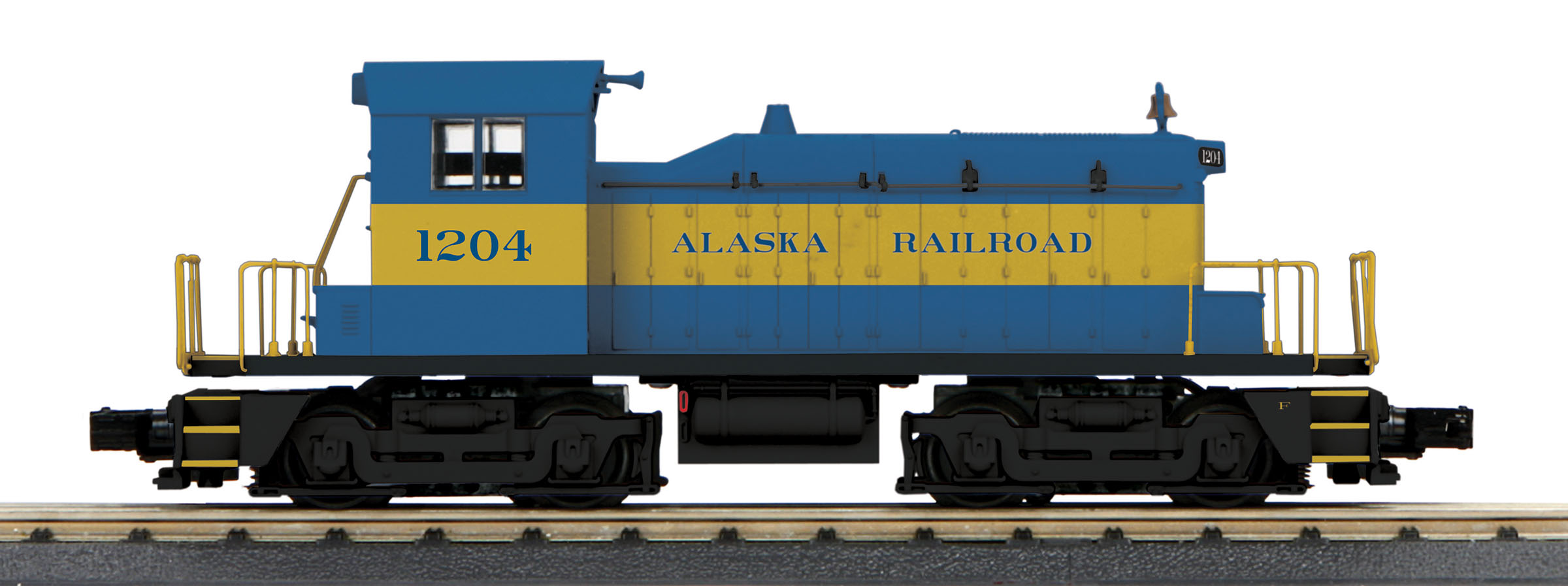 MTH30206001 MTH Electric Trains O-27 SW-1 Switcher w/PS3, ARR #1204