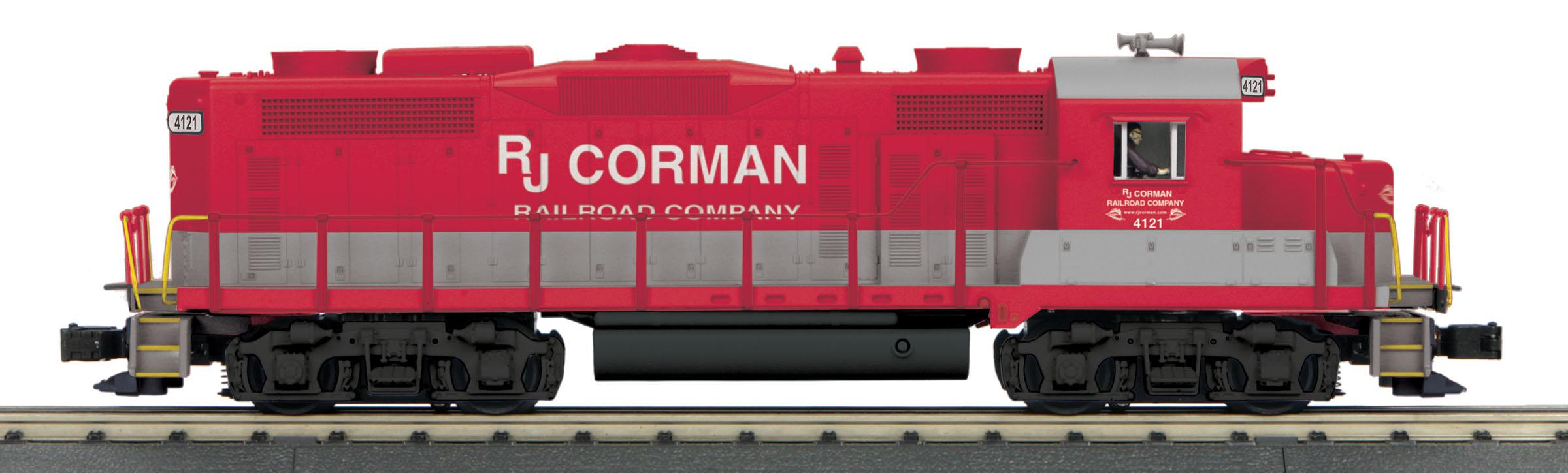 MTH 30206101 O-27 GP-20 w/PS3, RJ Corman #4121 MTH30206101