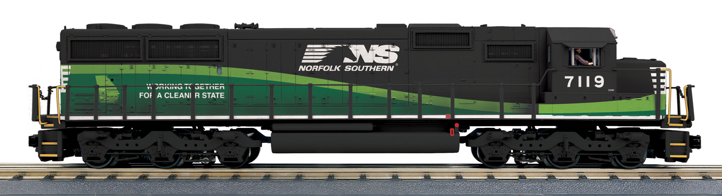 MTH30206161 MTH Electric Trains O SD60 w/Snd NS 7119 507-30206161