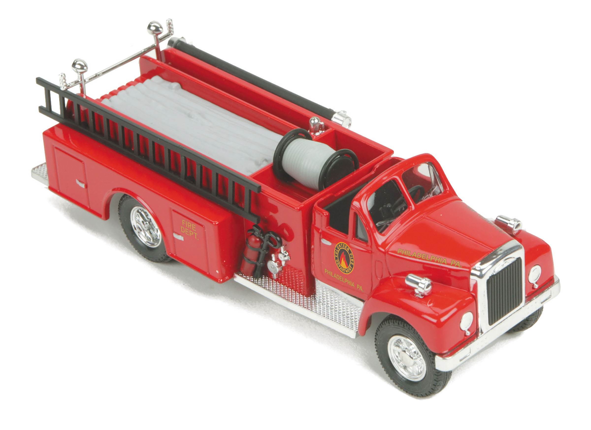 MTH 30-50101 Fire Truck Assembled RailKing Philladelphia Fire Department