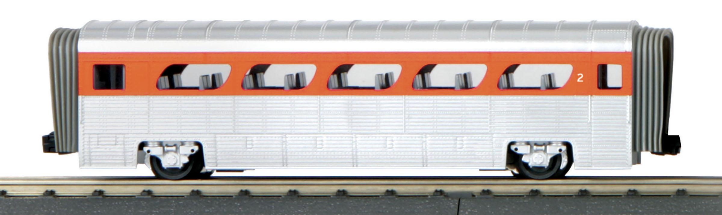 MTH 30-6185 O Aerotrain Coach 3 Rail RailKing Union Pacific 2
