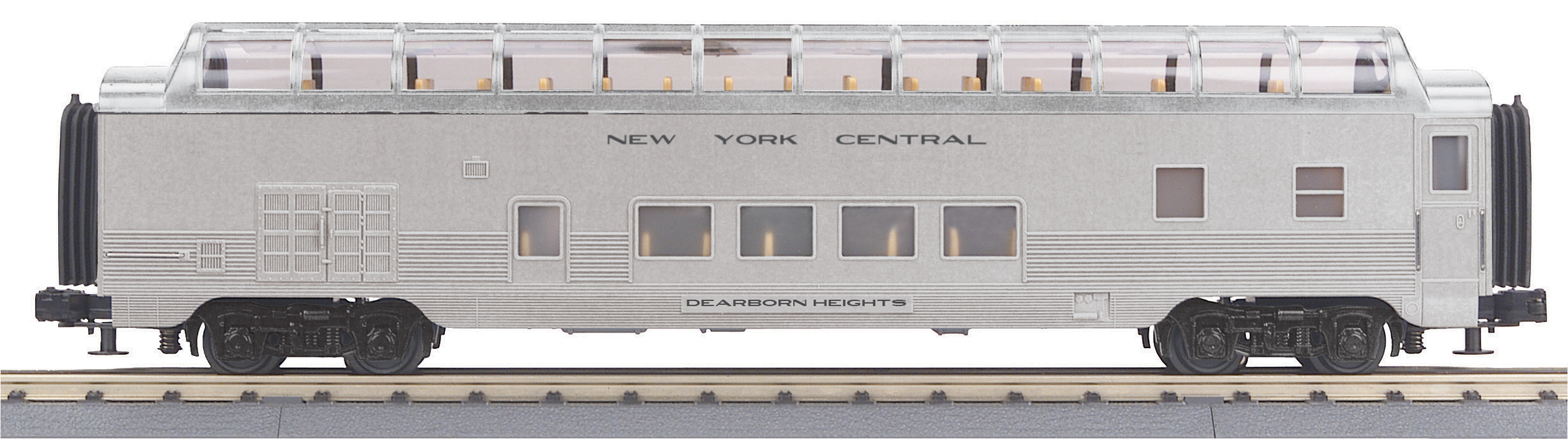 MTH3068061 MTH Electric Trains O-27 60' Streamline Full Vista Dome, NYC