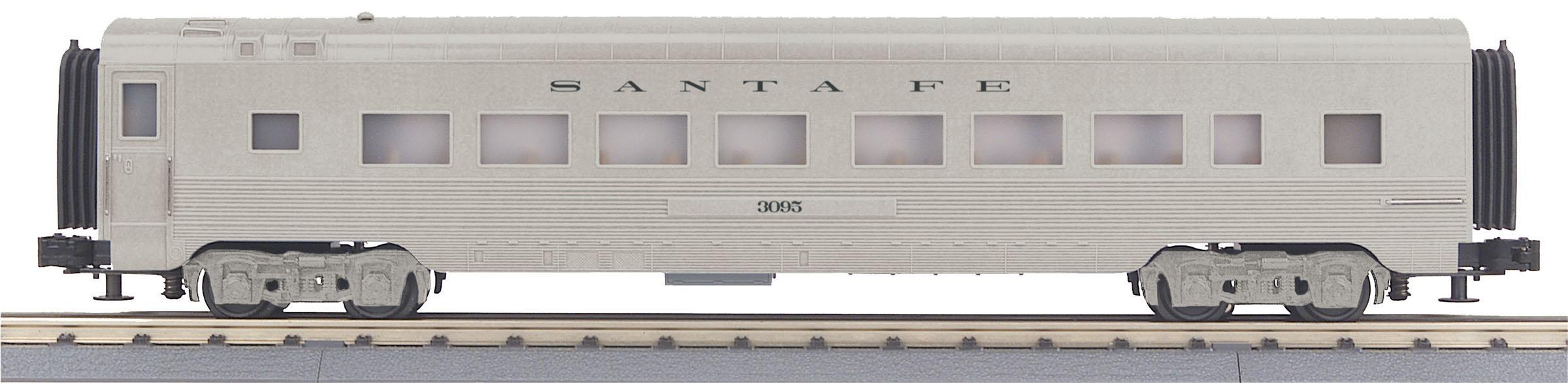 MTH 30-68125 O-27 60' Streamline Coach SF #3159