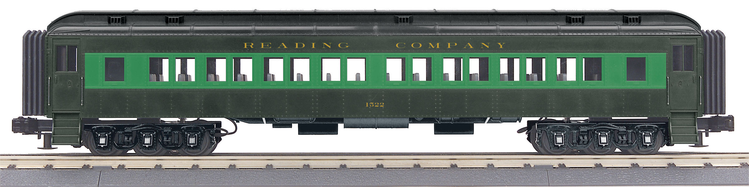 MTH3069326 MTH Electric Trains O-27 60' Madison Coach Car, RDG #1523