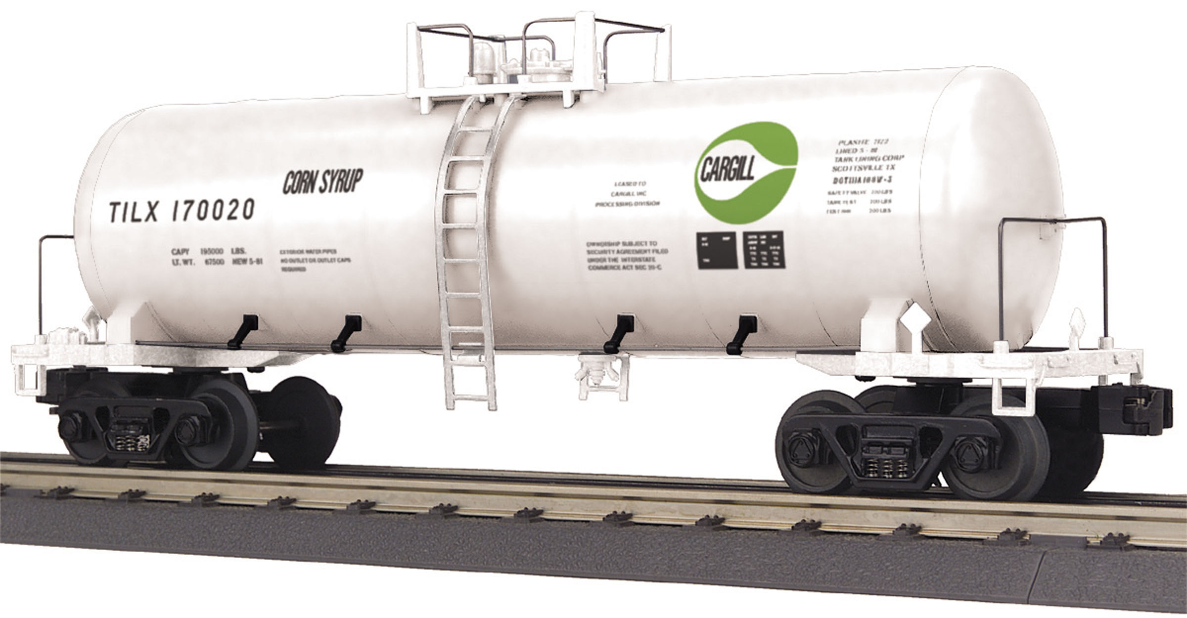 O Gauge RailKing Modern Tank Car Cargil Modern Tank Car - Cargil Car No.  170020 . e34f0ac32b