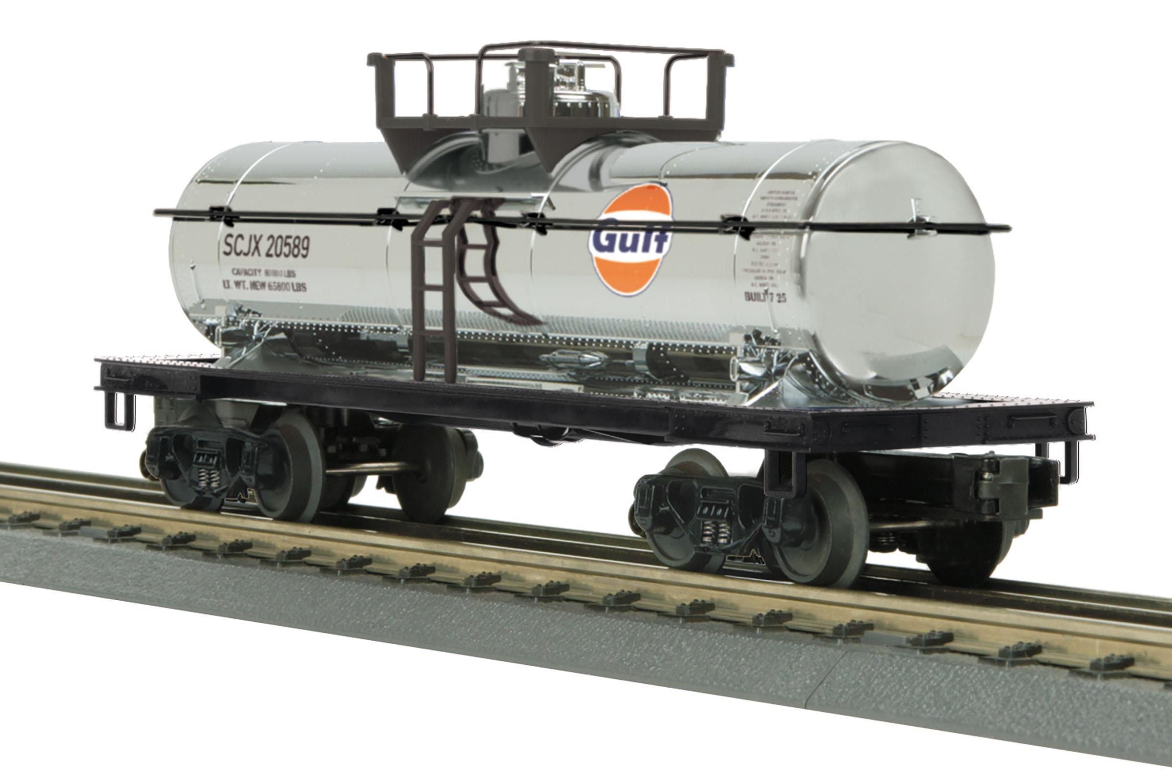 MTH 30-73553 Tank Car 3 Rail RailKing Gulf 20589