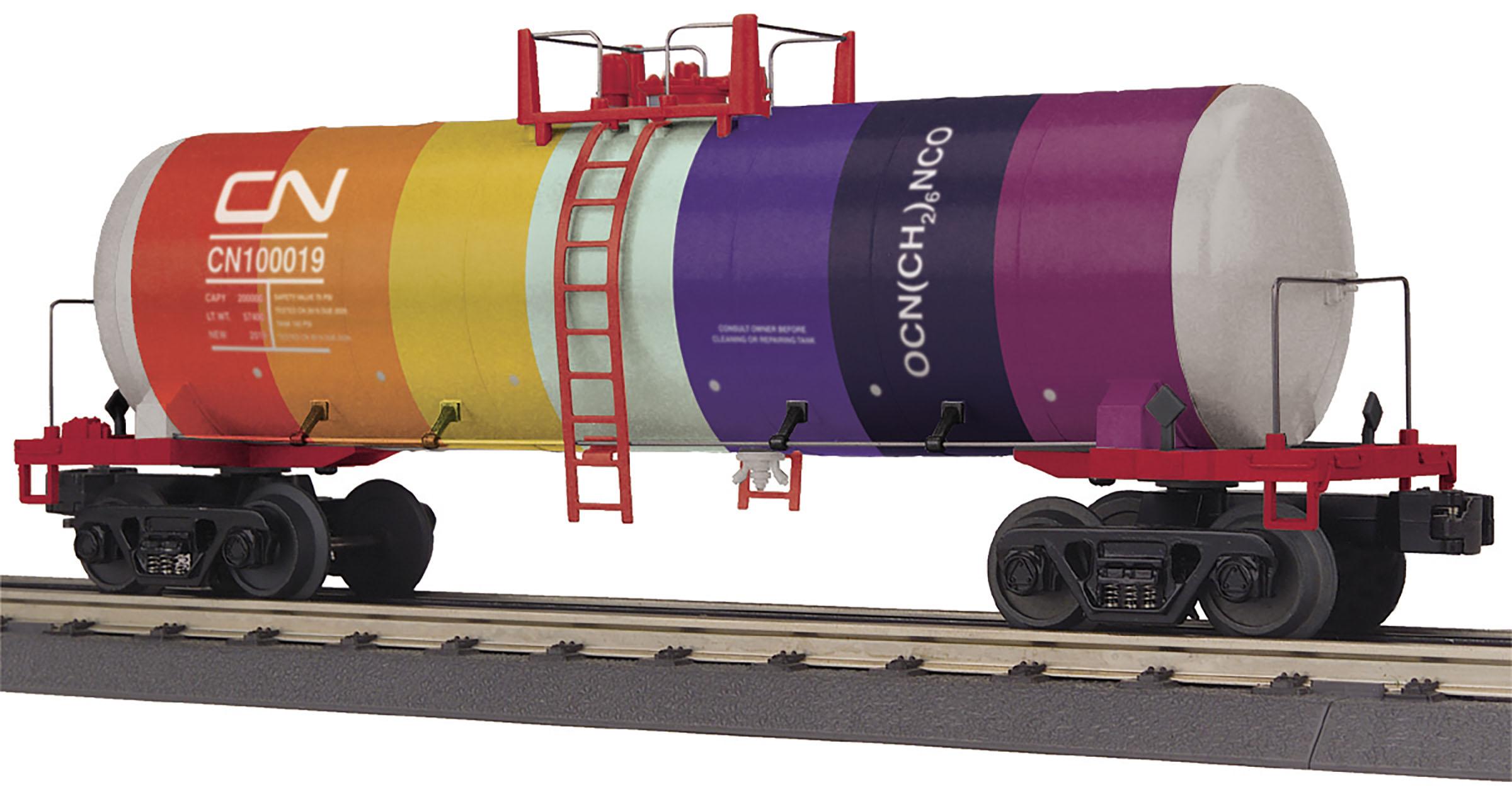MTH 30-73557 Modern Tank Car 3 Rail RailKing Canadian National 100019