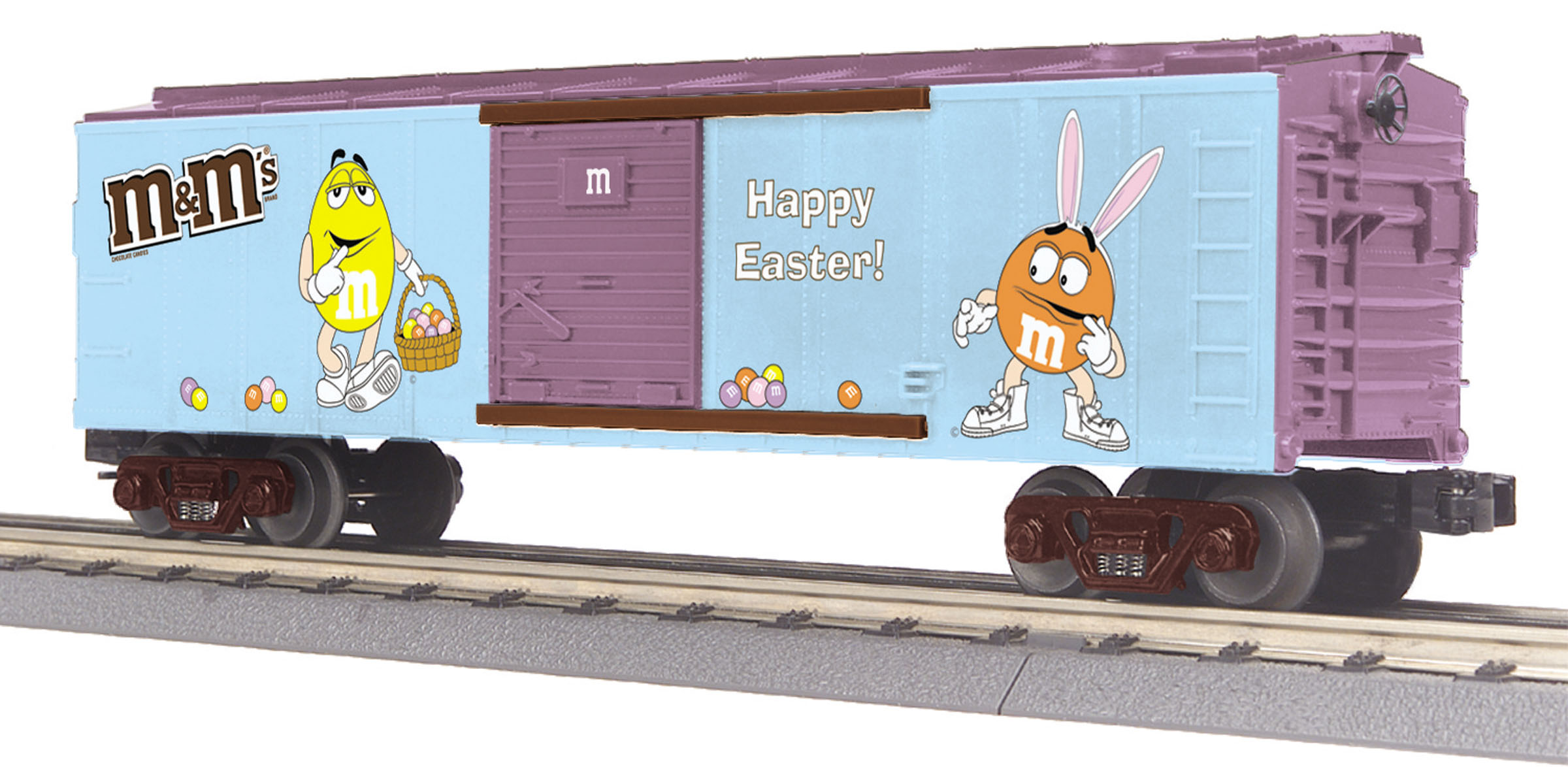 30-74597 M/&M/'s Halloween Box Car  RailKing