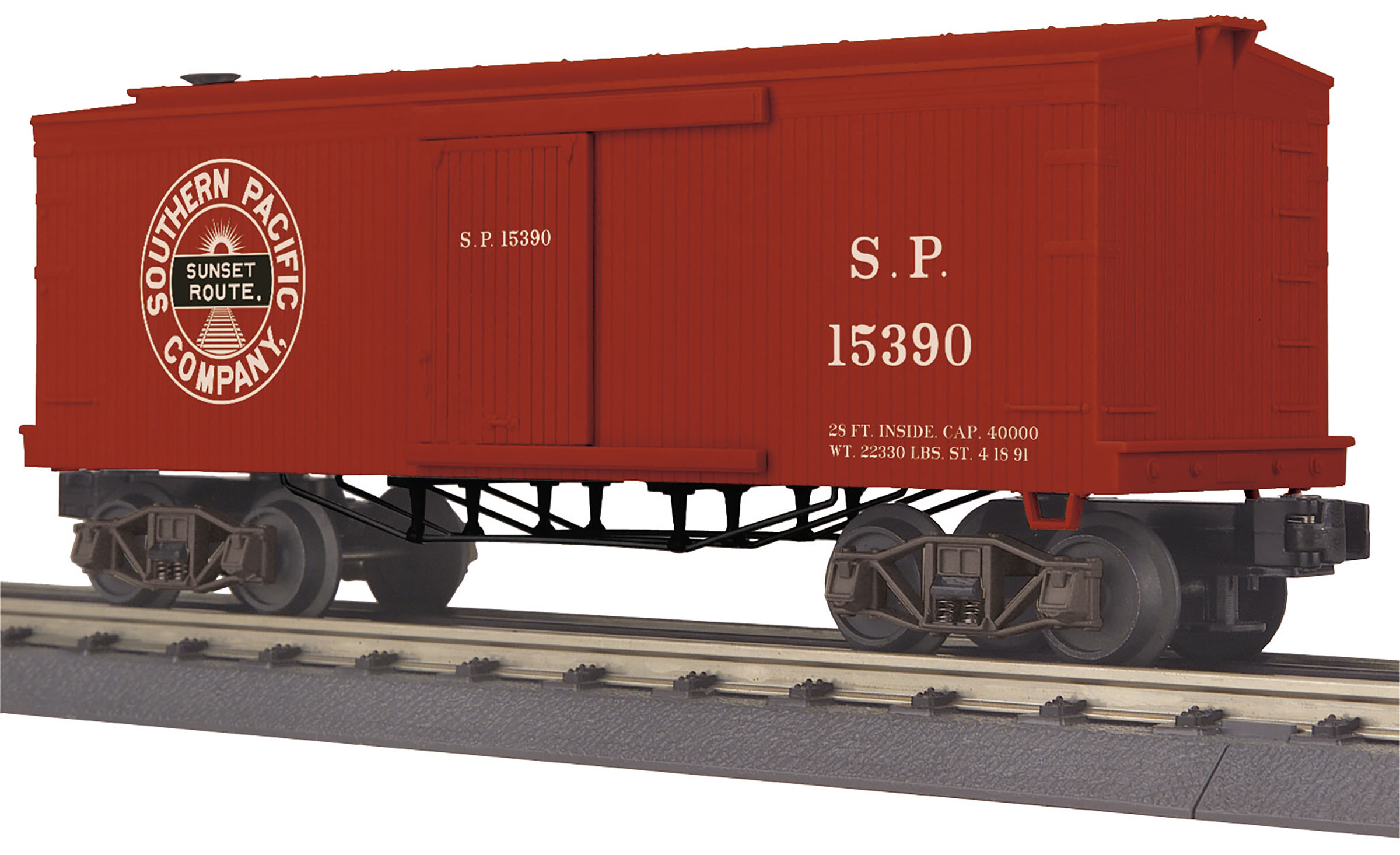 MTH3074955 MTH Electric Trains O-27 19th Century 34' Tank, SP #15390