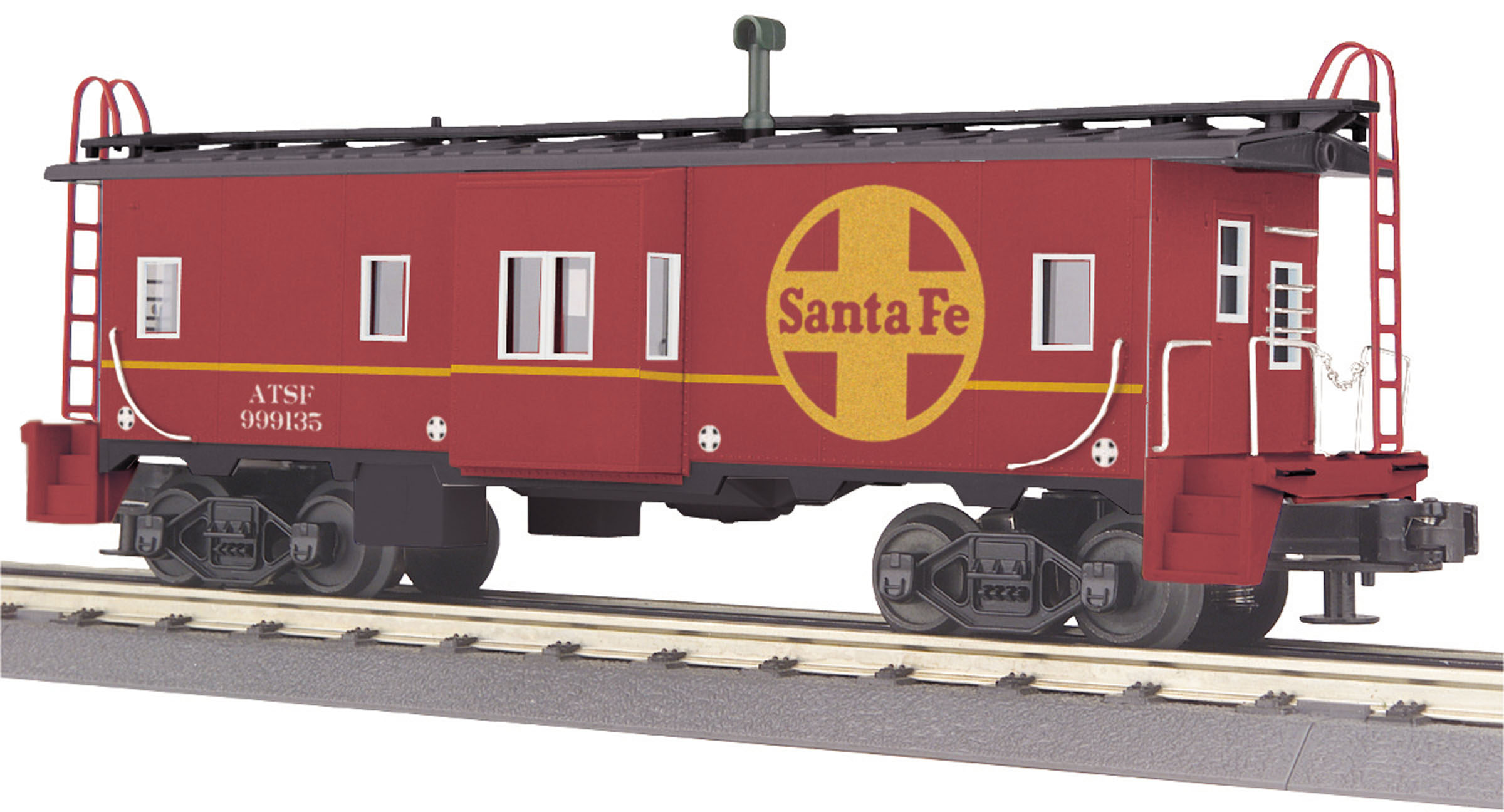 Santa Fe 4-Bay Hopper Car #81847 70-75042 MTH ONE GAUGE