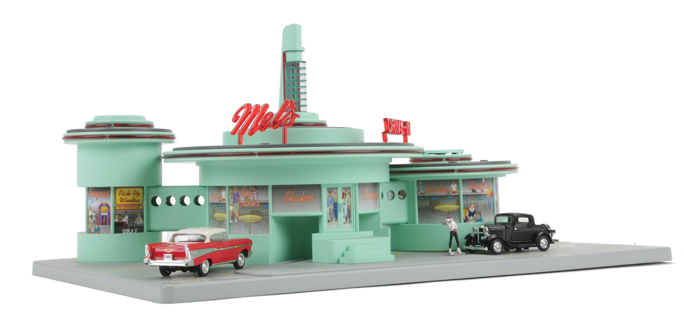 Operating Drive In Diner