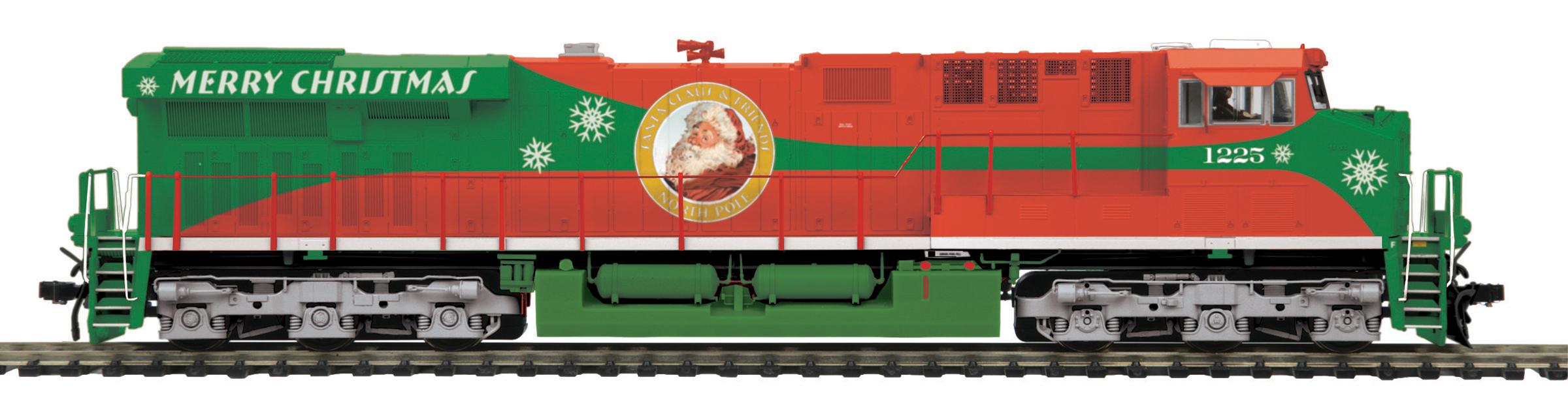 MTH 80-2351-1 GE ES44AC Proto Sound 3.0 & DCC Merry Christmas #1225